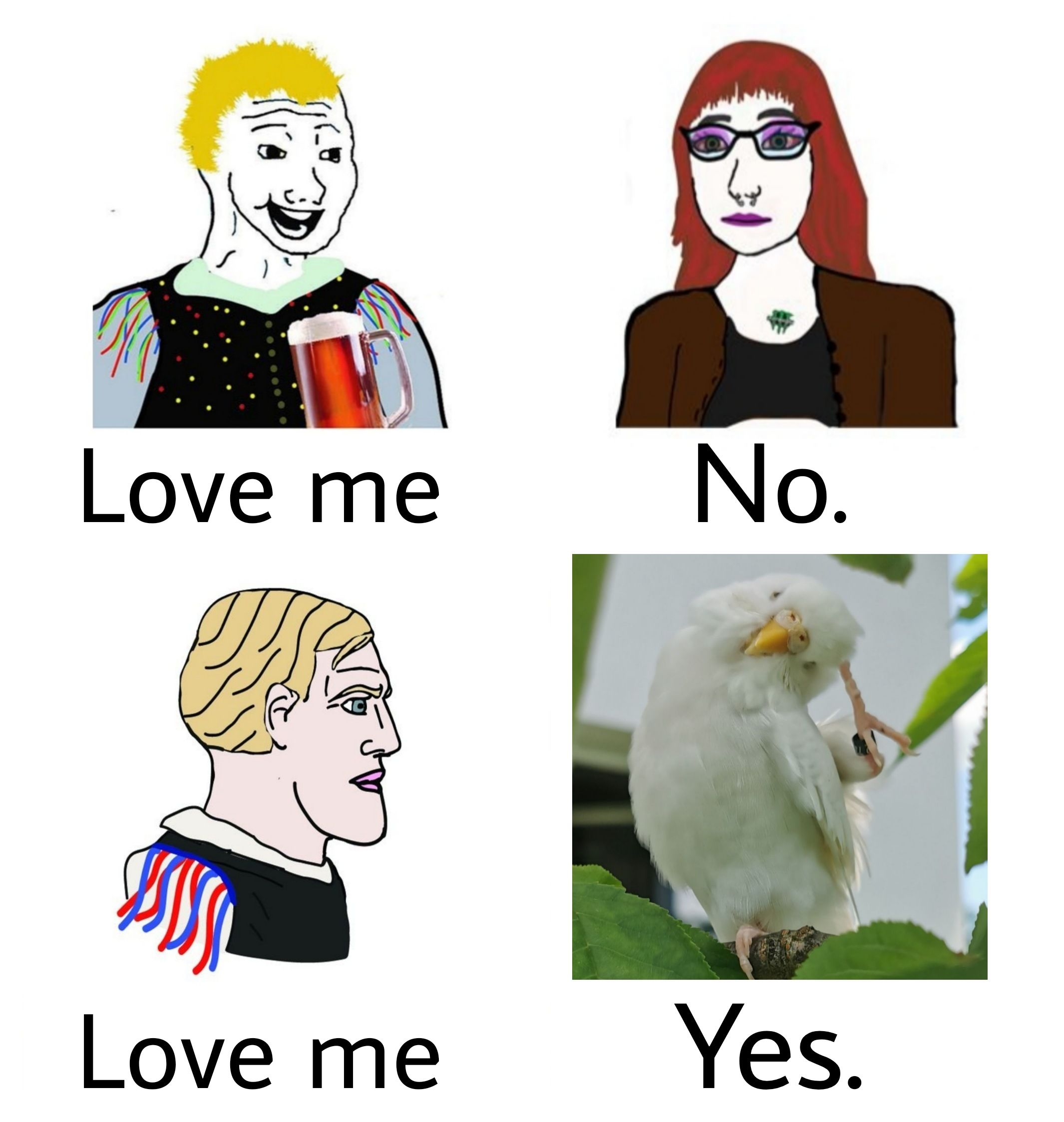 Croissant: A Slovenian Love Story in Four Panels. Also: #slobirb