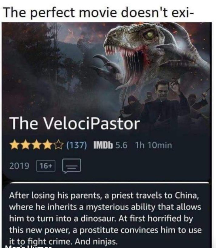 The perfect movie