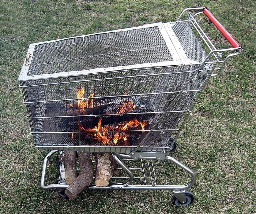 I was looking for DIY portable fire pits...