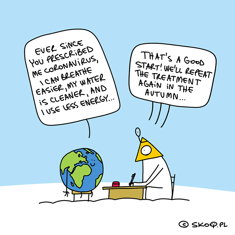 Earth goes to the doctor...