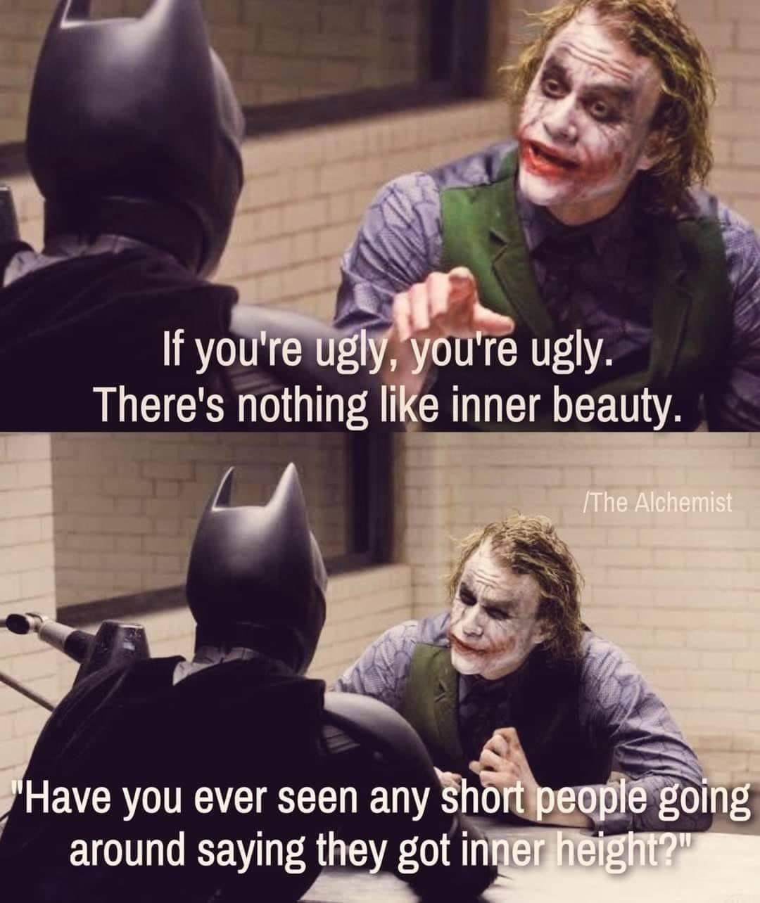 Joker spittin straight fax