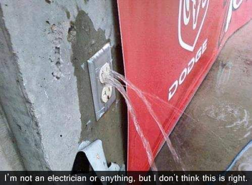 Sad power socket