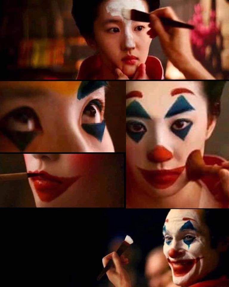 THE make up artist for Mulan