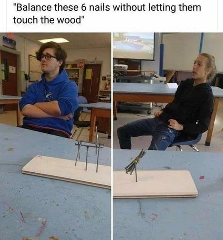 Virgin scientist vs. Chad engineer