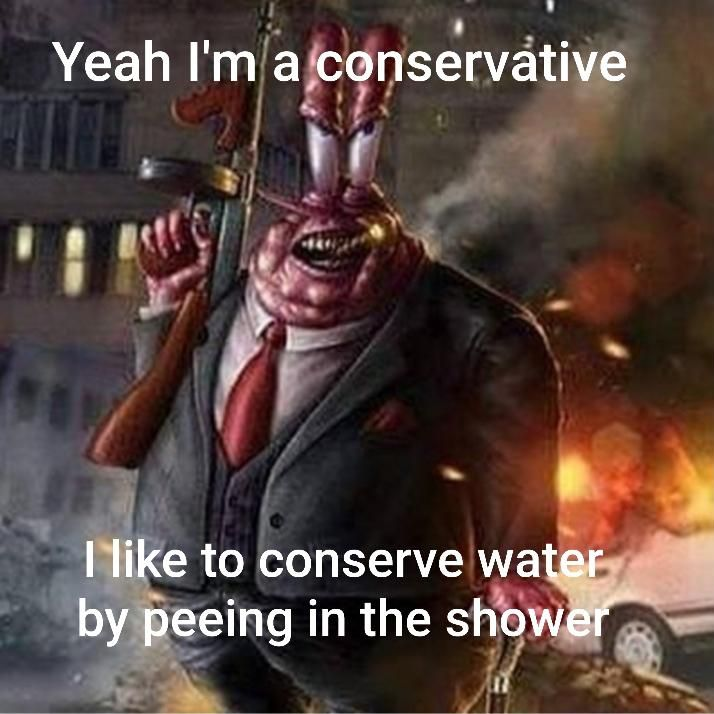 HARCORE conservatives SHIT in the SINK