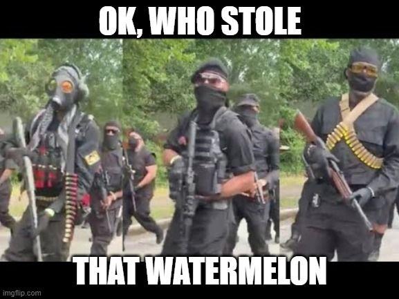 Start of the watermelon wars