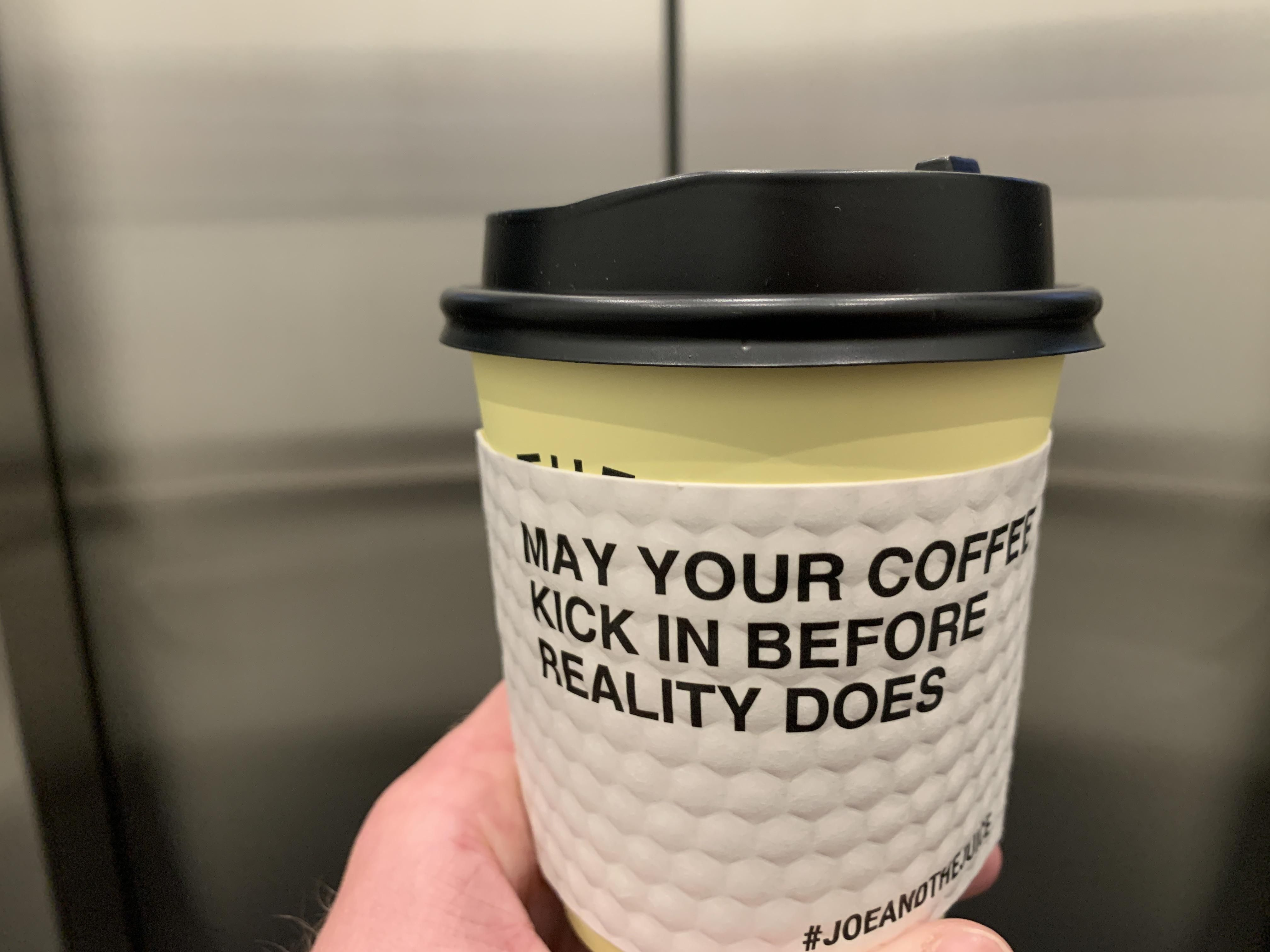 Thank You Wise Coffeecup