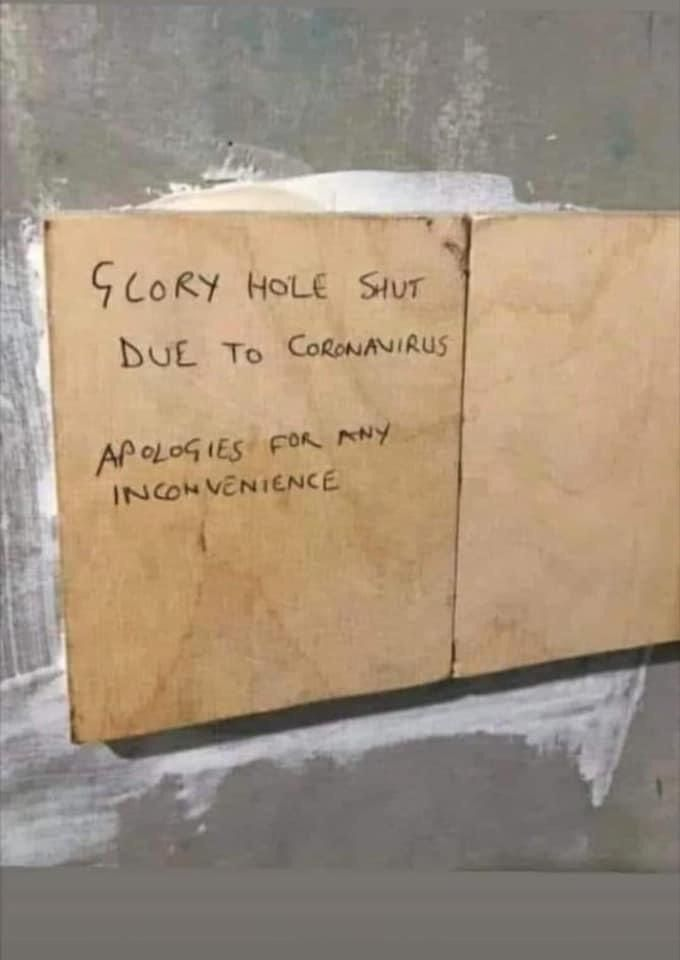 Glory hole shut