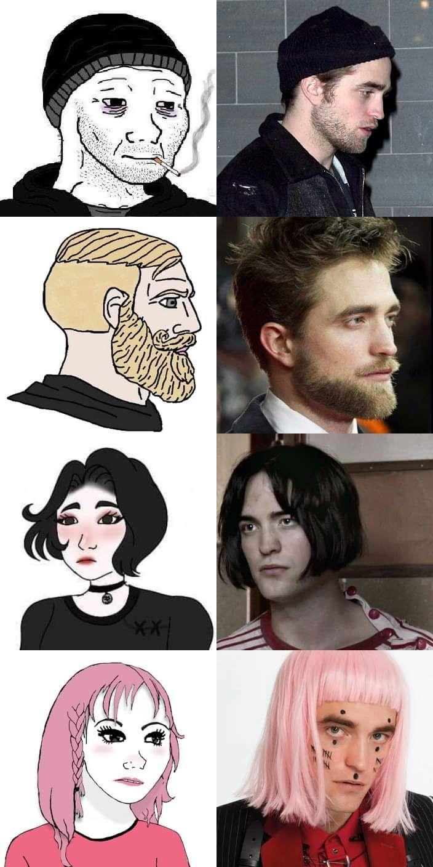 Evolution of Robert Pattison