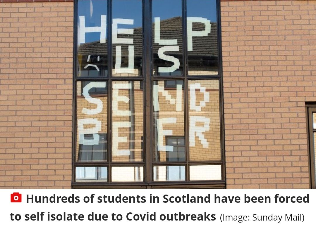 Students in Scotland need help