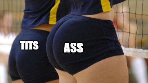 Ass > Tits