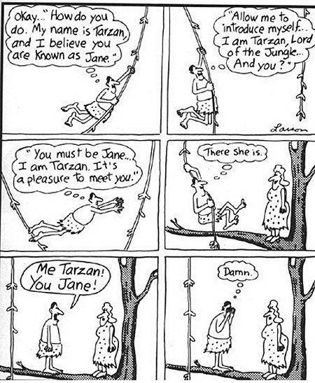 Garry Larson is the best cartoonist