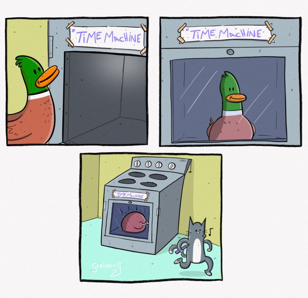 Time Traveling Duck