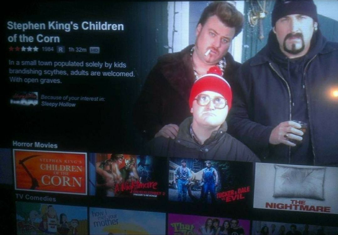 My favorite Netflix glitch.