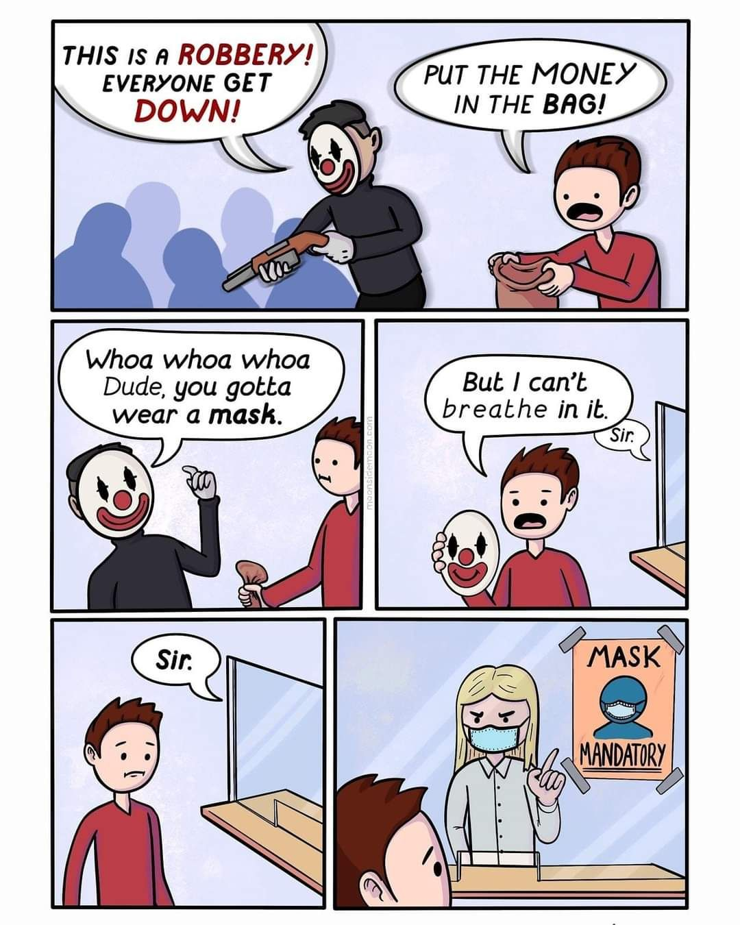 Wear mask everyone