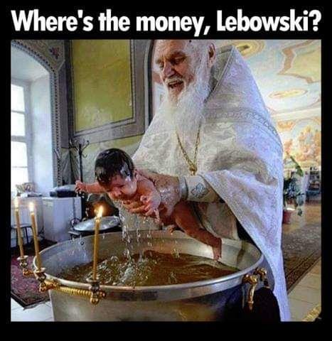 Where's the money shithead?