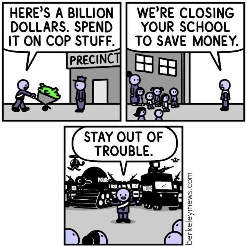 Cop stuff.