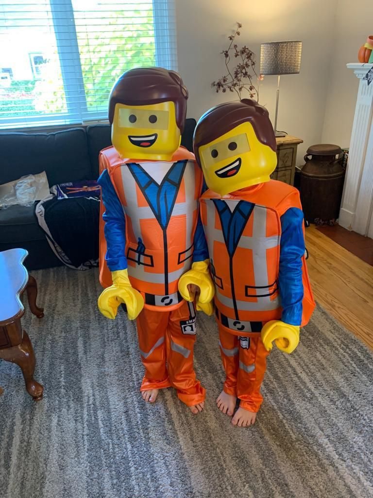 My nephews just got their Halloween costumes