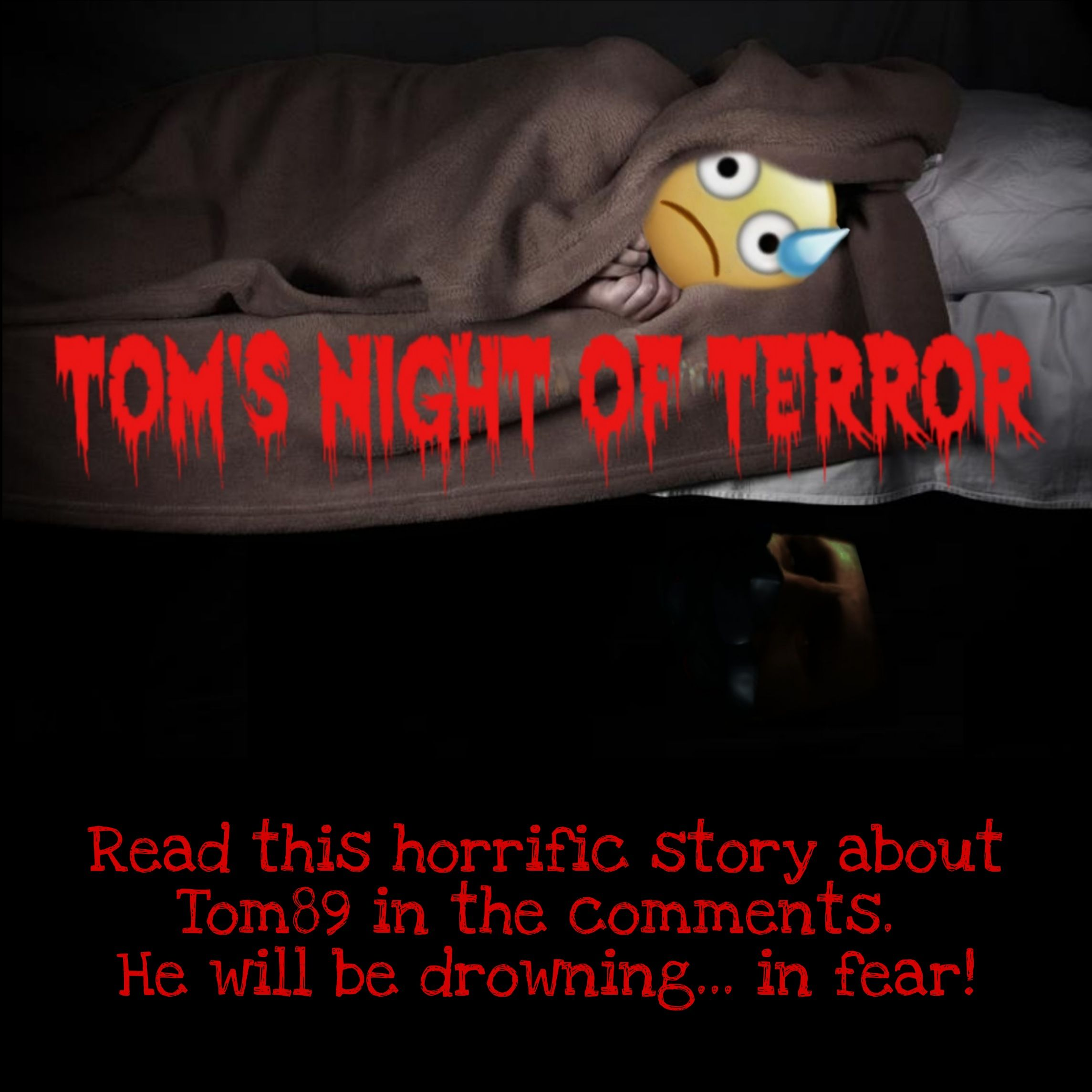 First spooky story of The Hugelol Spooktober Chronicles: Tom's Night of Terror!