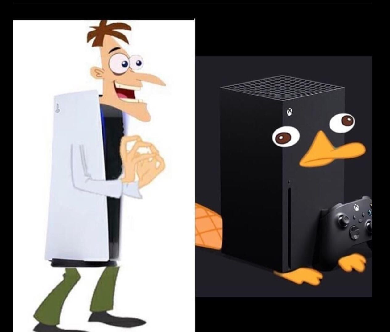 PlayStation Doofenshmirtz Or Xbox Series Perry?