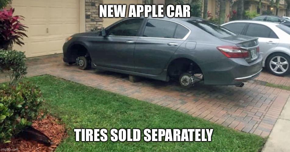 New Apple car