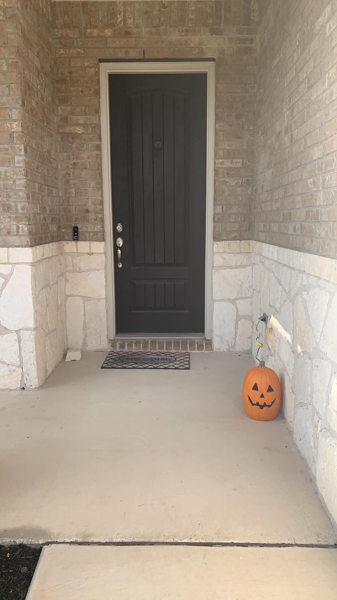 My first Halloween as a homeowner and I got a little carried away with the decorating!