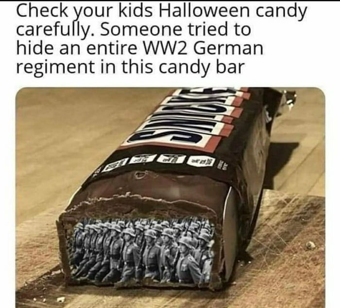 Check the candy!