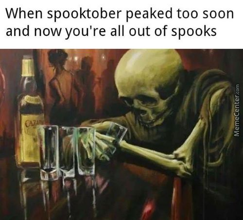Out of Ammo! Can someone give me spooks