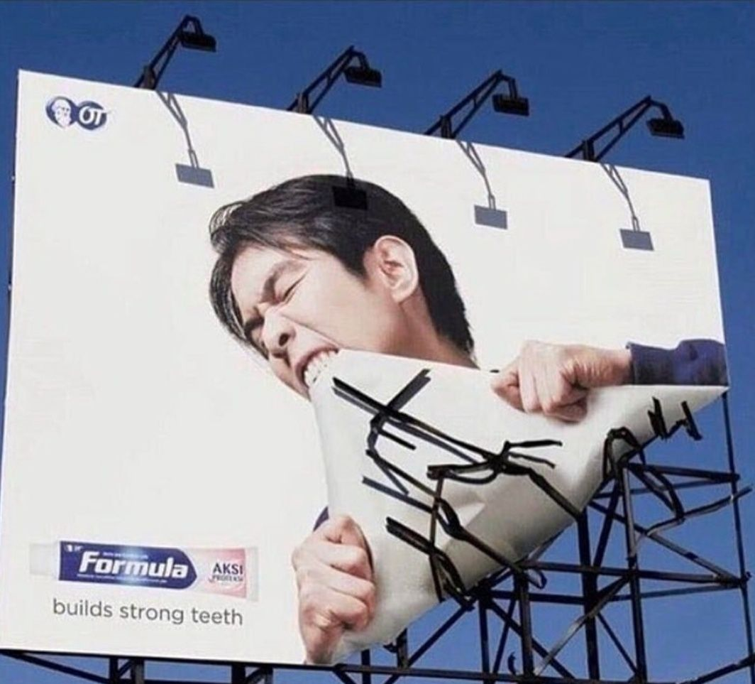 Perfect advertisement doesn't ex.....
