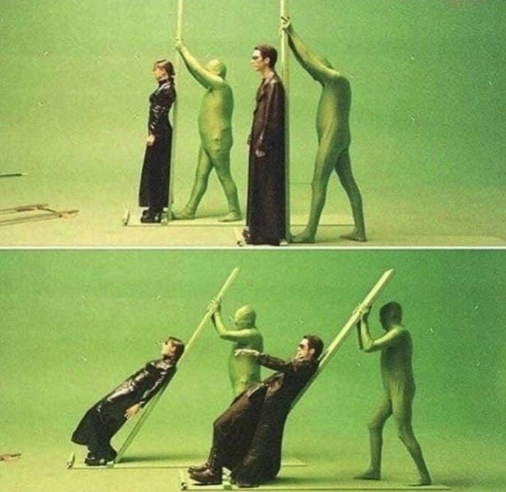 Matrix. How it was