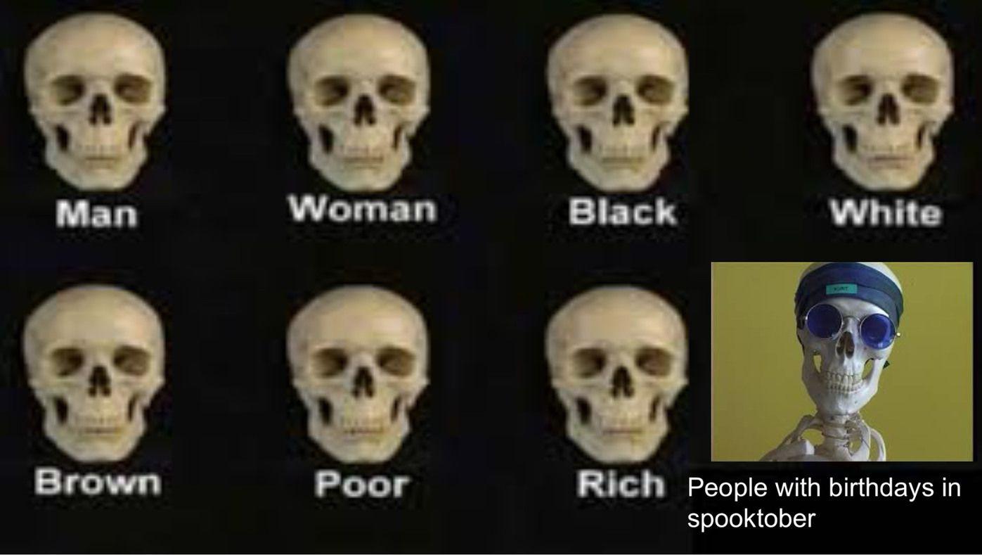 Who else spooks`?
