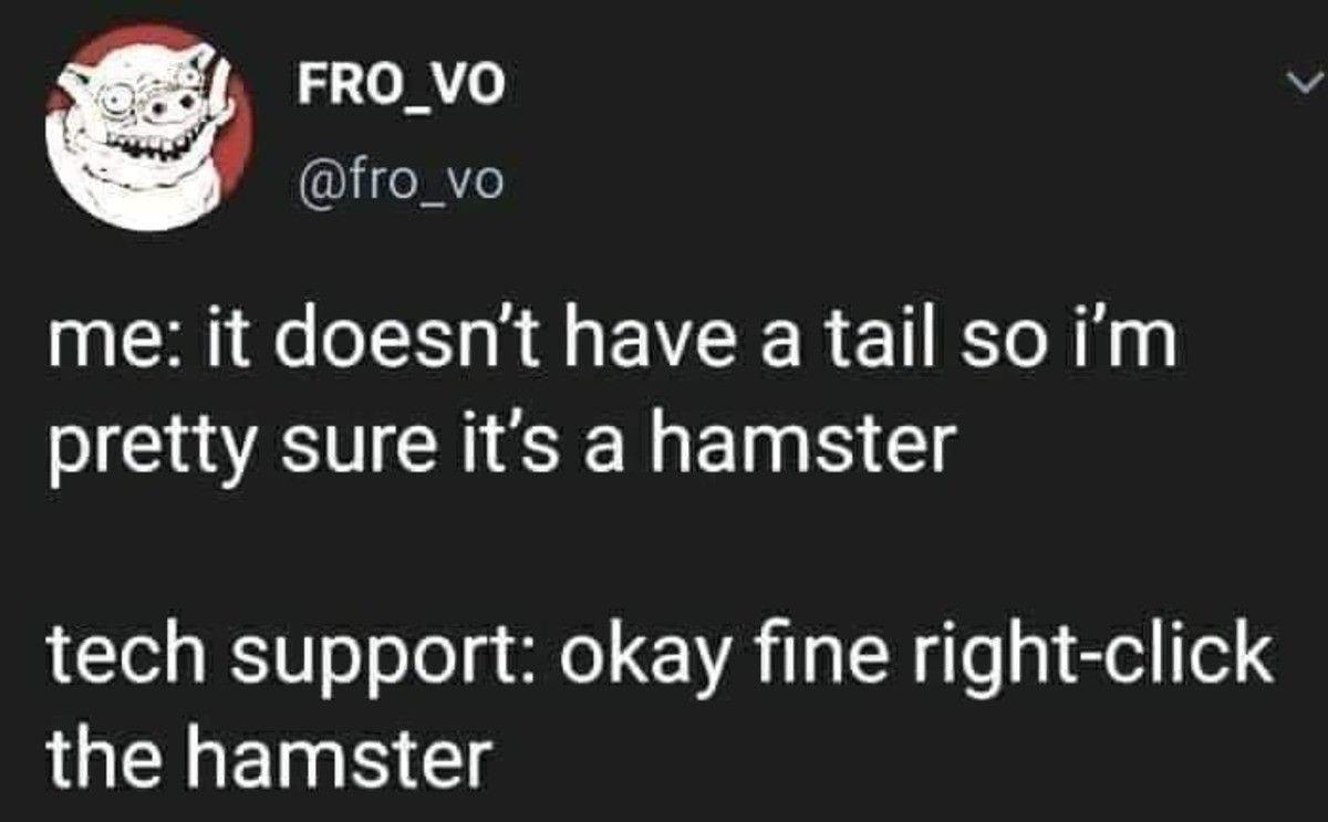 No no, hes got a point!
