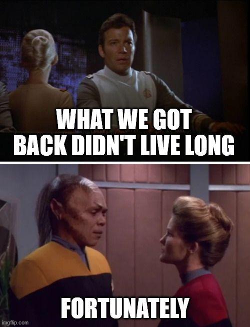 1. Star Trek, 2. ???, 3. Front