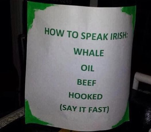 2021 is coming ! Lets learn Irish to be up to date :)
