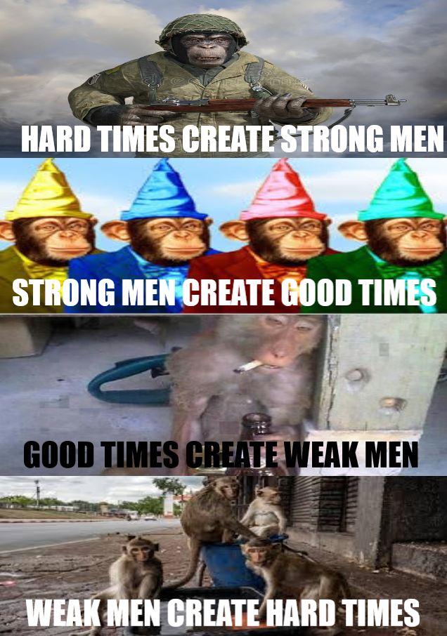 Monki always strong