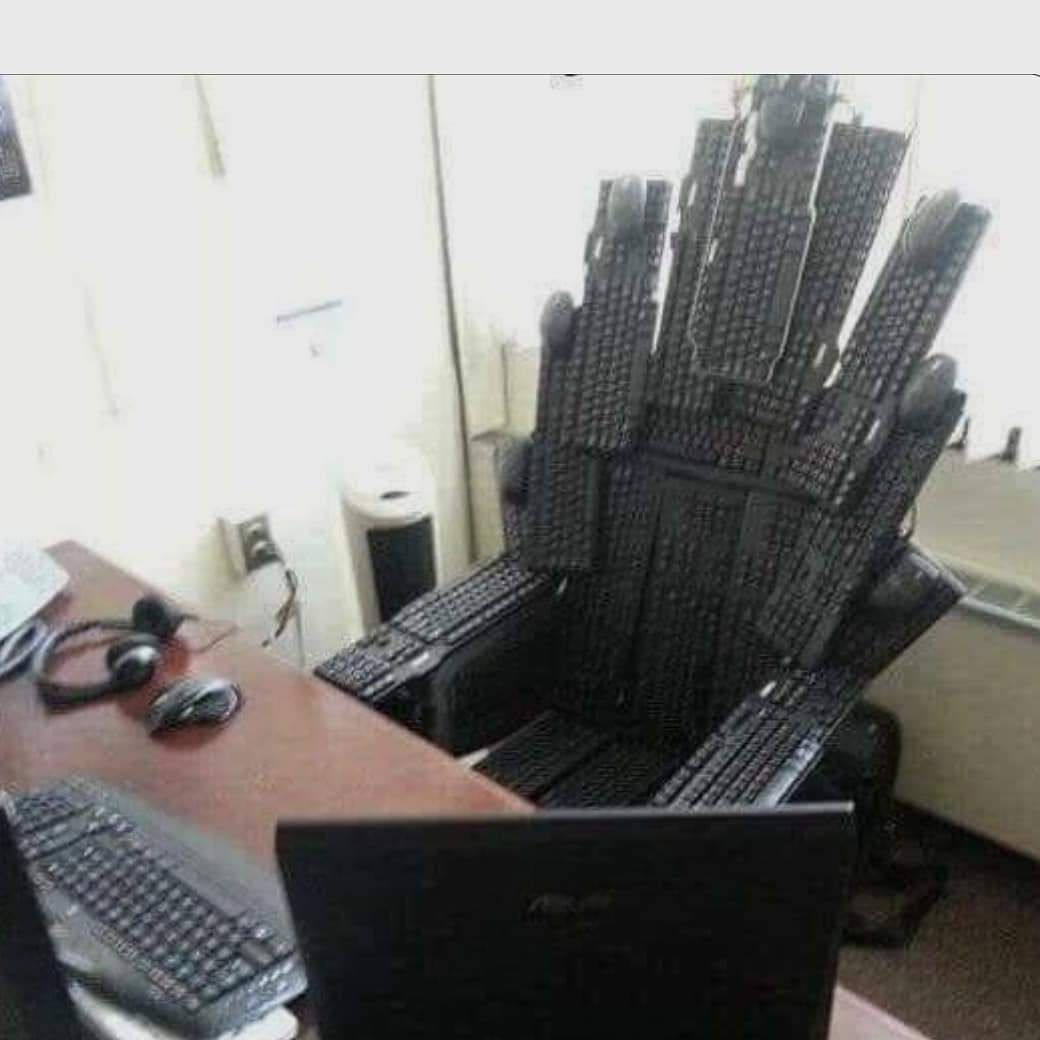 Game of keyboards