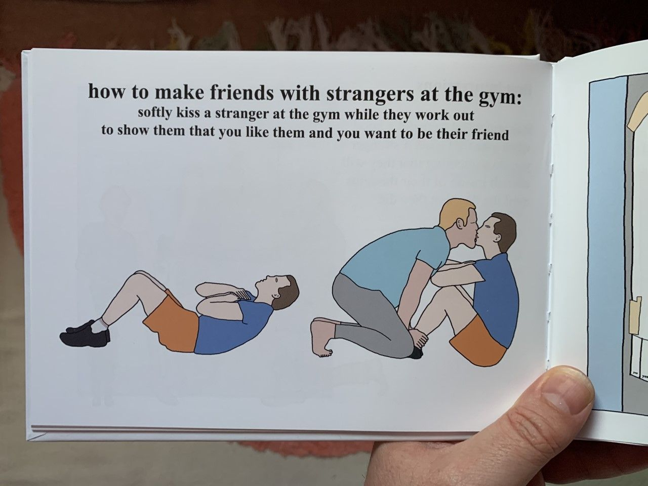 I tried this and now I'm banned from the gym