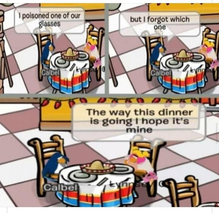 The good old days of club penguin