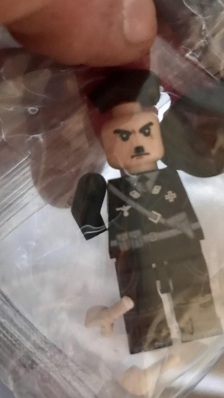 Wife ordered WWII legos from China, we got 50 little hitlers.