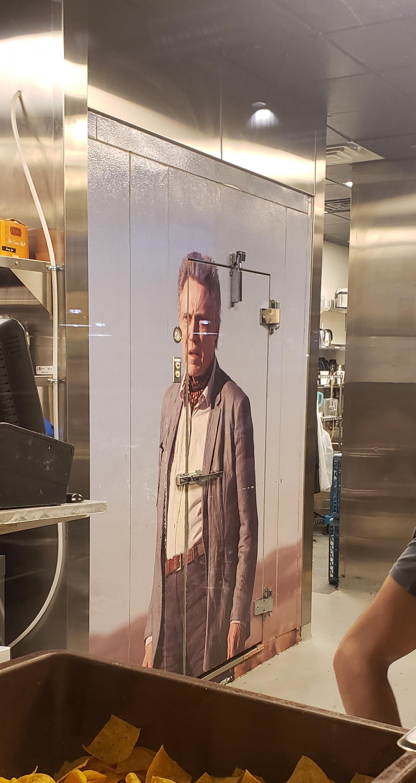 Hey! Its a Christopher Walkin freezer.