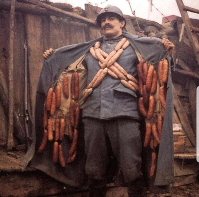 The Wurst guy in WW1