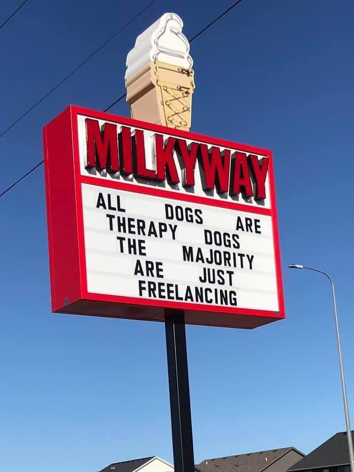 My local ice cream shop sharing TRUTH.