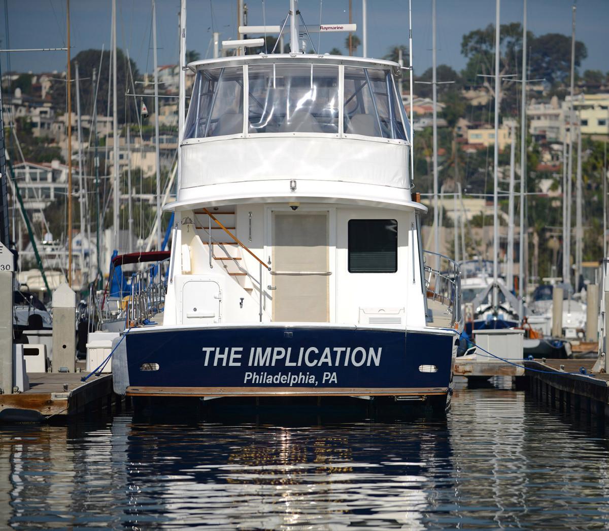 Found the Dennis' boat.