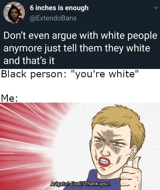 arigato gozaimasu brack person