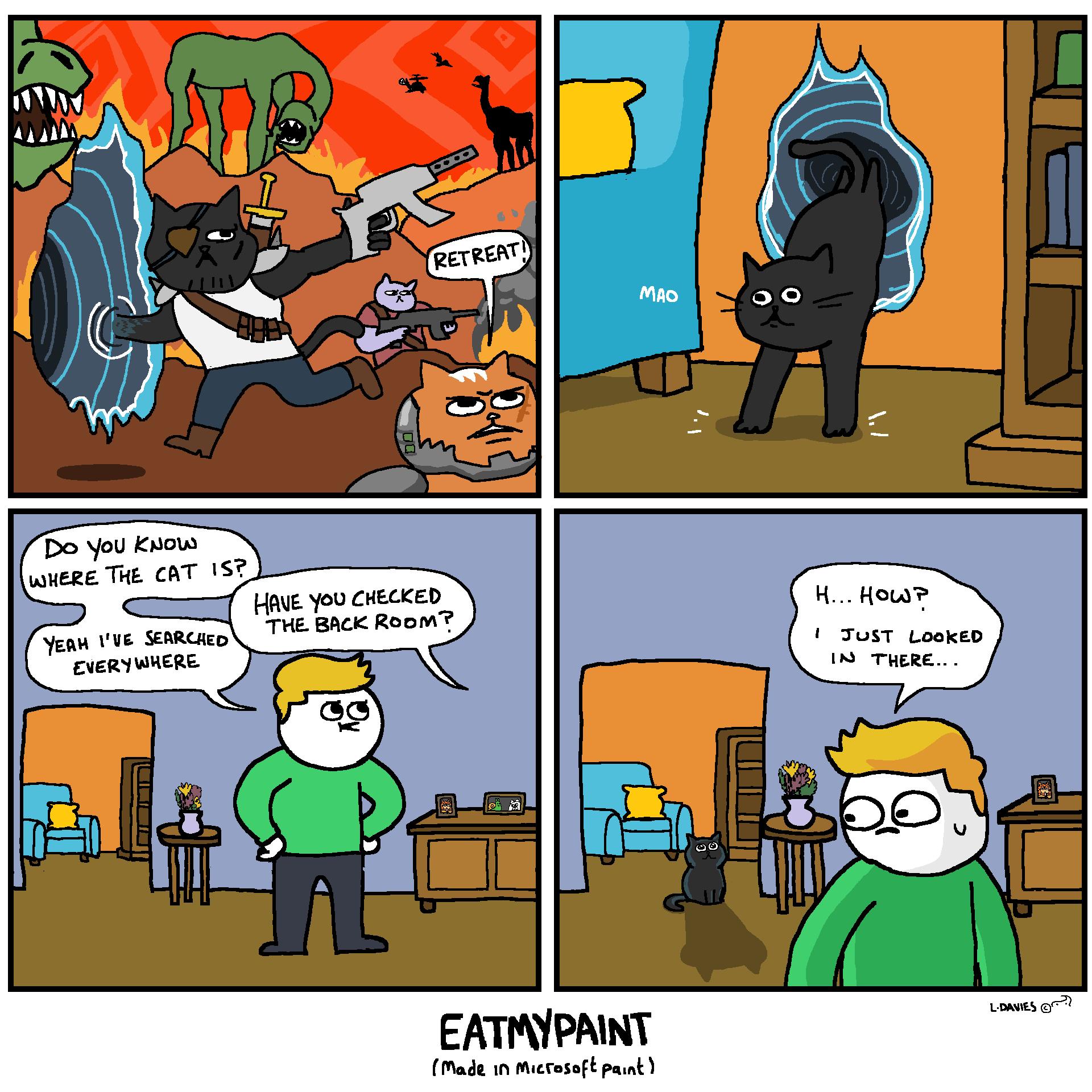 Interdimensional Void-Jumping Battle Cats