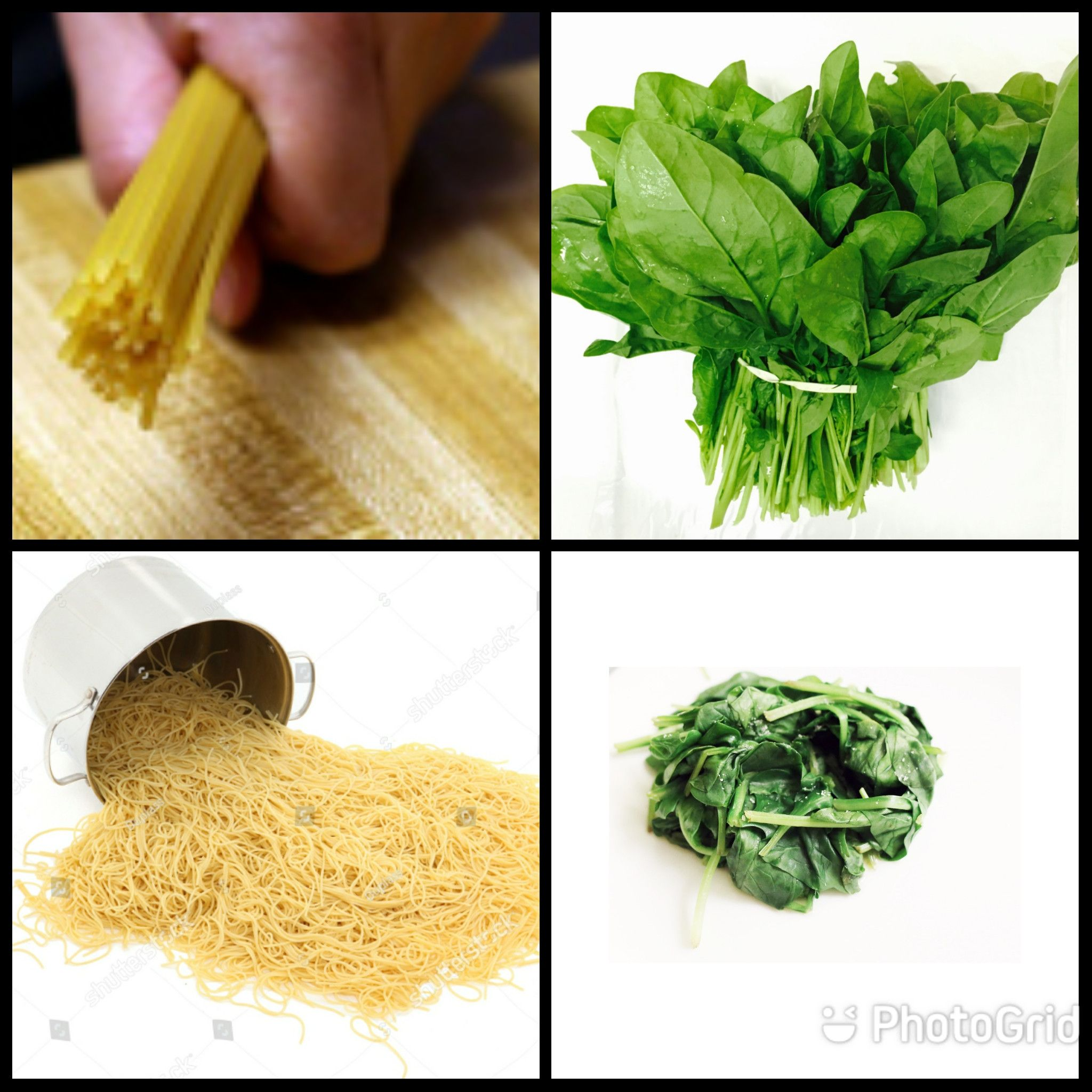 The pasta/spinach paradox