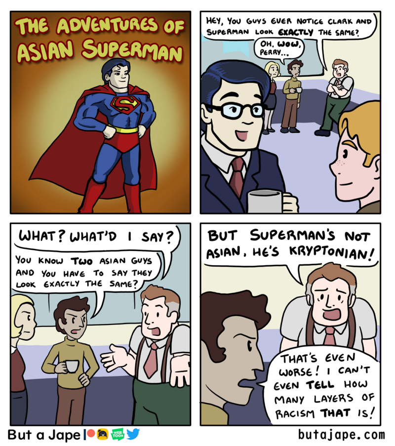 The Adventures of Asian Superman