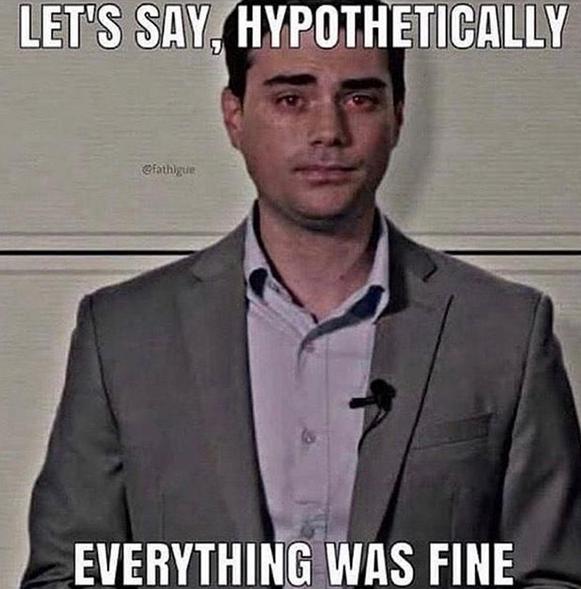 Hypothetically of course.