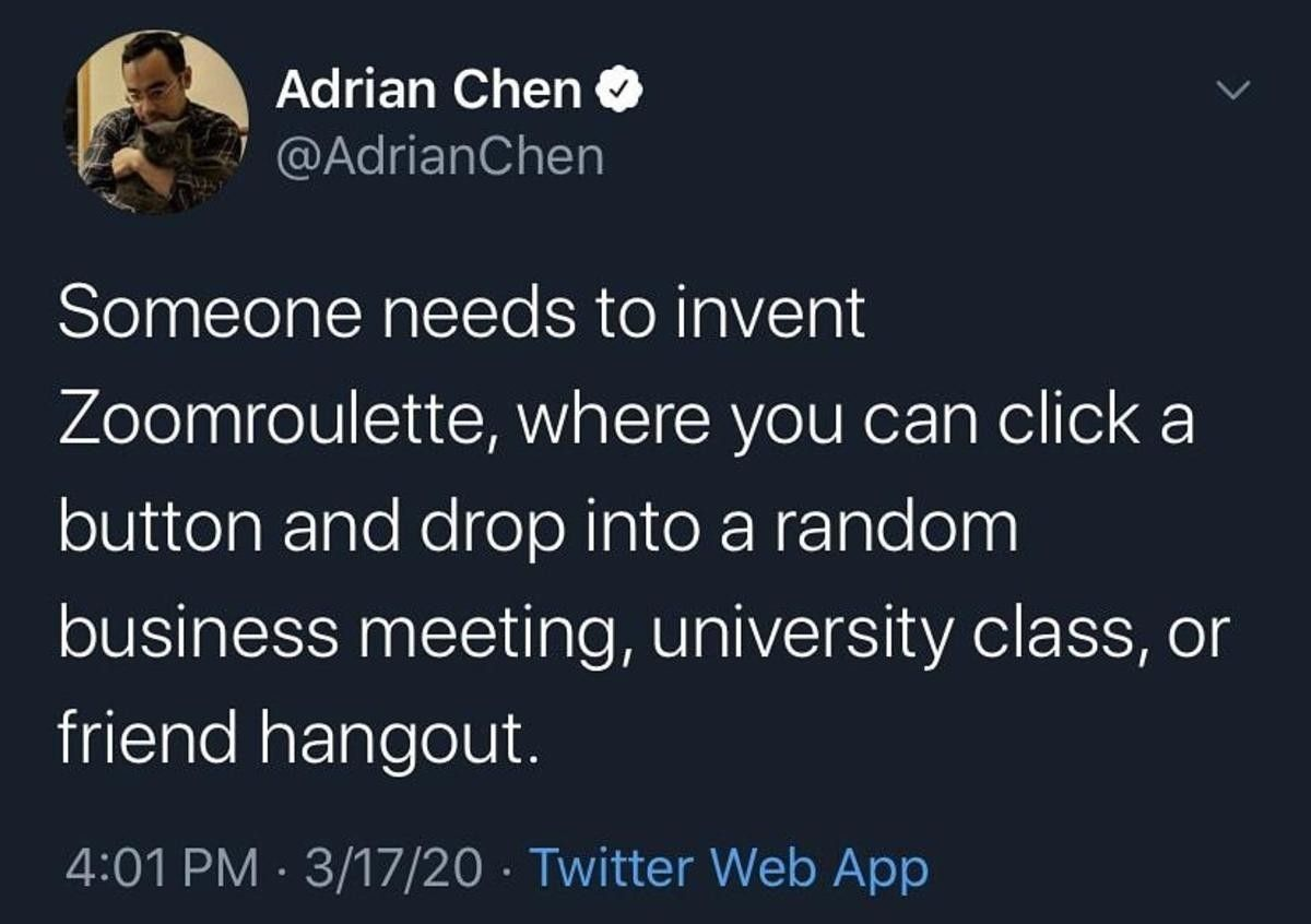 What a horrible idea, I love it