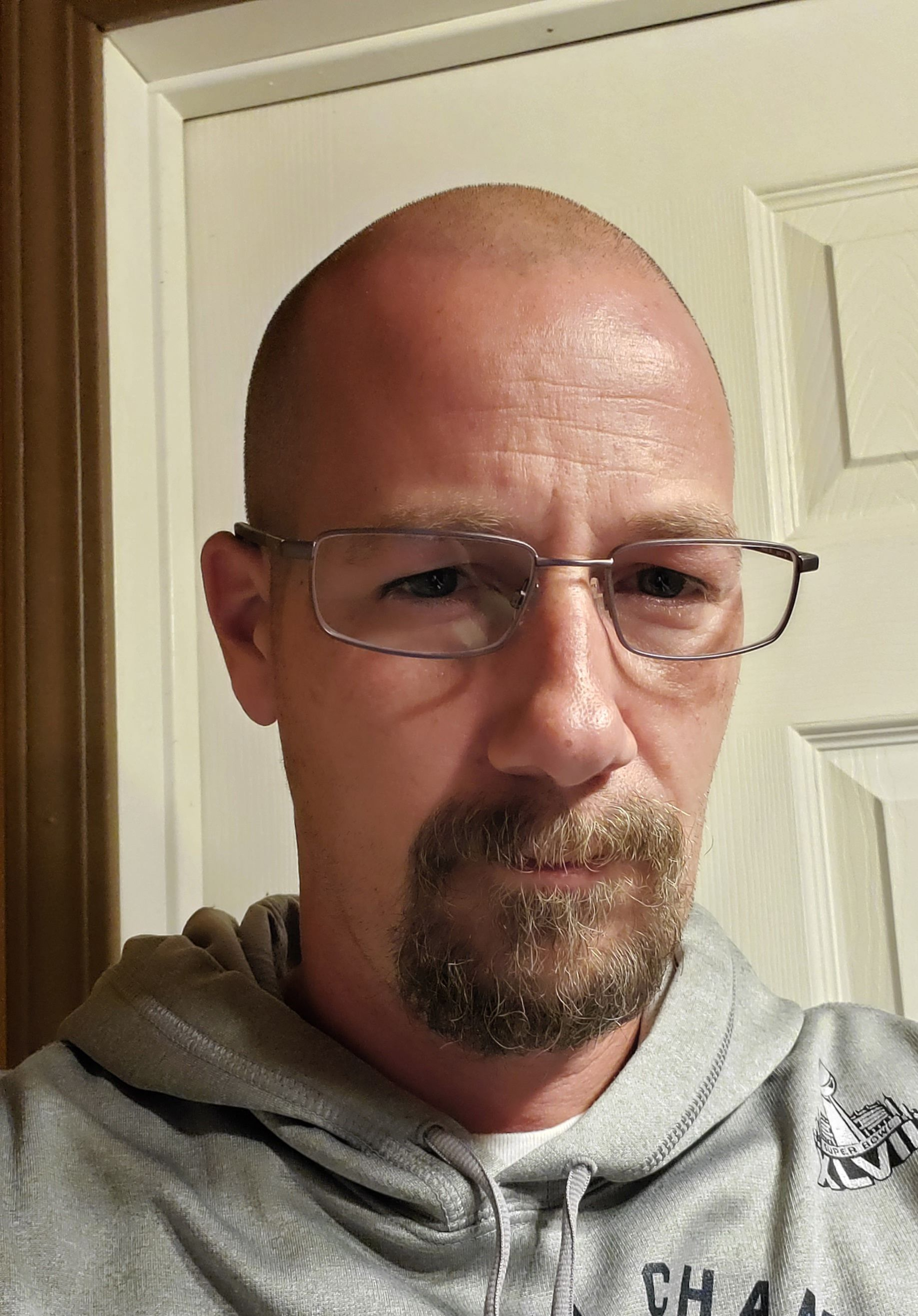 At 40, just got my first pair of prescription glasses, and was told I look like Walter White. I don't see it...